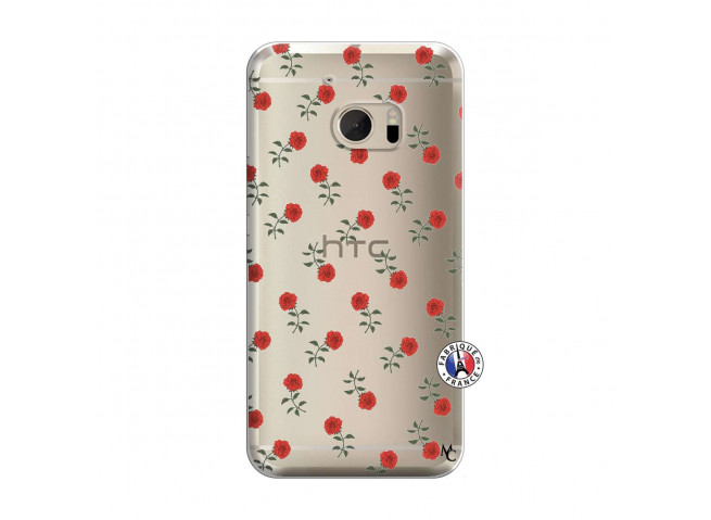 Coque HTC ONE M10 Rose Pattern