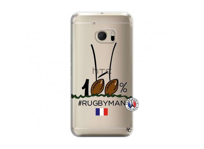 Coque HTC ONE M10 100 % Rugbyman Entre les Poteaux