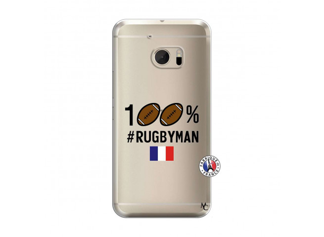 Coque HTC ONE M10 100% Rugbyman