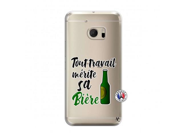 Coque HTC ONE M10 Tout Travail Merite Sa Biere