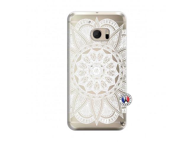 Coque HTC ONE M10 White Mandala