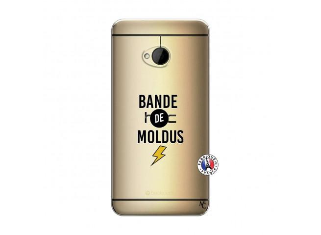 Coque HTC ONE M7 Bandes De Moldus