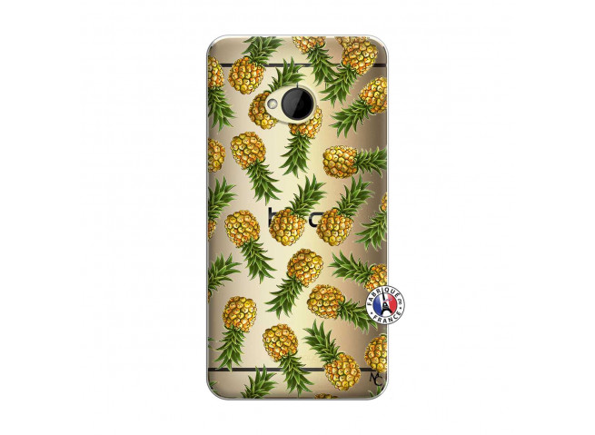 Coque HTC ONE M7 Ananas Tasia