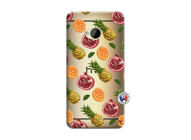 Coque HTC ONE M7 Fruits de la Passion