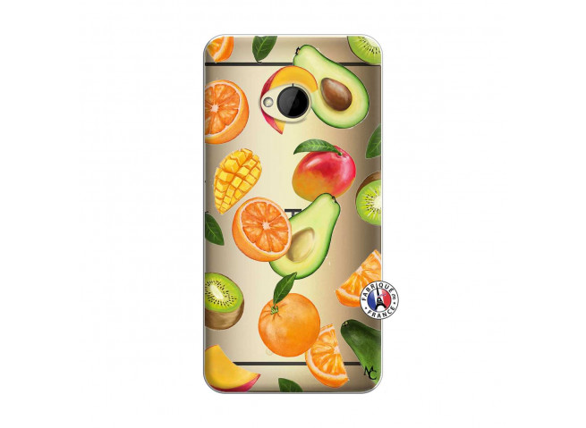 Coque HTC ONE M7 Salade de Fruits