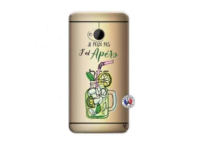 Coque HTC ONE M7 Je peux pas J'ai Apéro