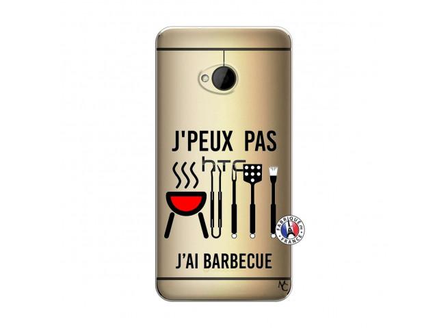 Coque HTC ONE M7 Je Peux Pas J Ai Barbecue