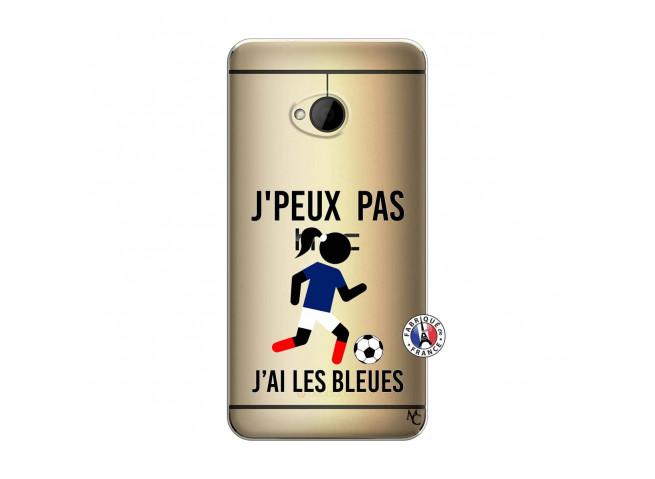 Coque HTC ONE M7 Je Peux Pas J Ai Les Bleues
