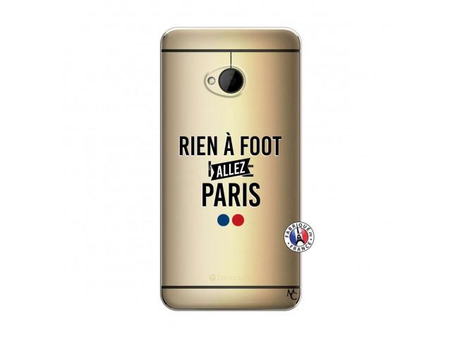 Coque HTC ONE M7 Rien A Foot Allez Paris