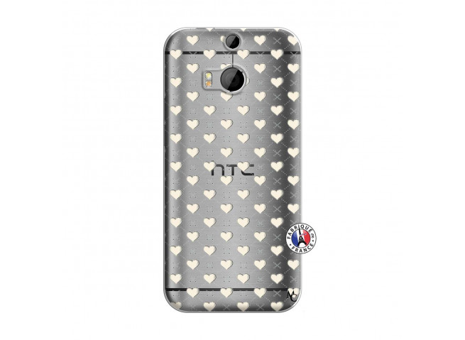 Coque HTC ONE M8 Little Hearts