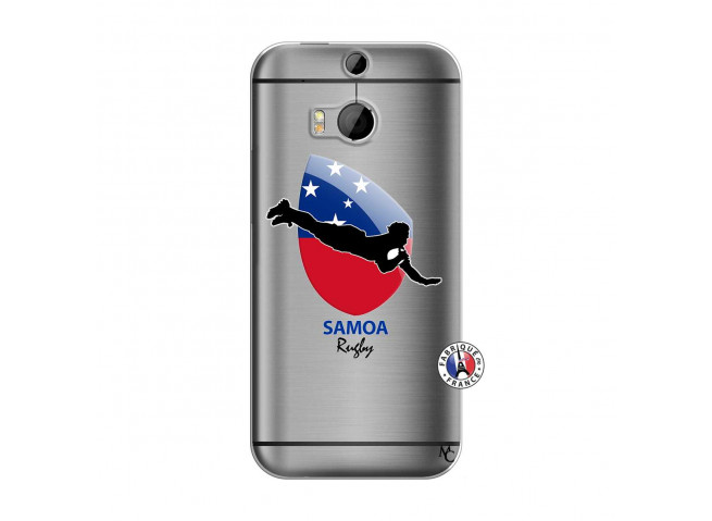 Coque HTC ONE M8 Coupe du Monde Rugby-Samoa