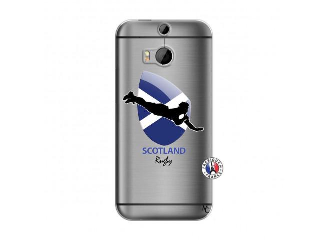 Coque HTC ONE M8 Coupe du Monde Rugby-Scotland