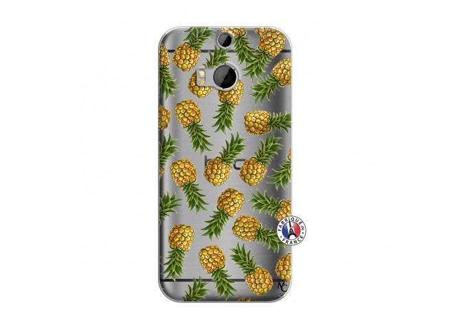 Coque HTC ONE M8 Ananas Tasia