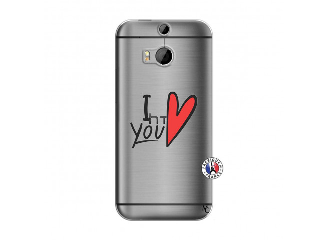 Coque HTC ONE M8 I Love You
