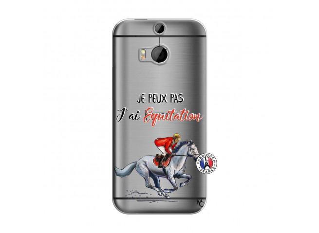 Coque HTC ONE M8 Je Peux Pas J Ai Equitation