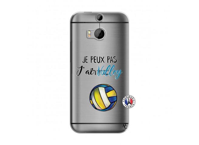 Coque HTC ONE M8 Je Peux Pas J Ai Volley