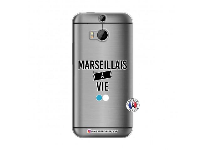 Coque HTC ONE M8 Marseillais à Vie