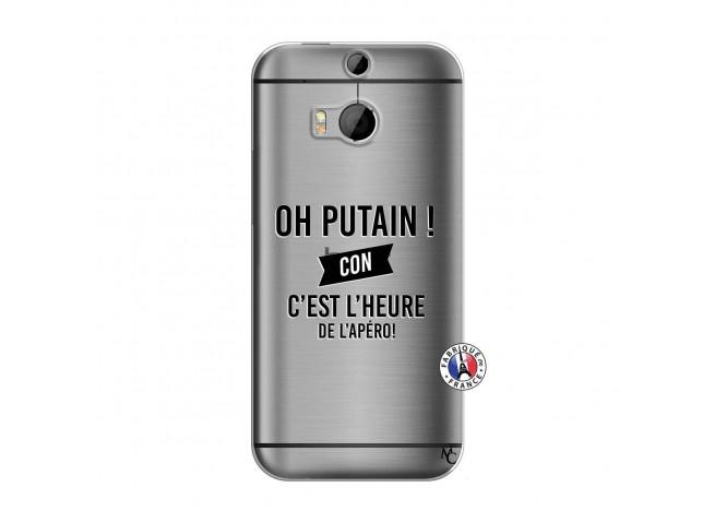 Coque HTC ONE M8 Oh Putain C Est L Heure De L Apero