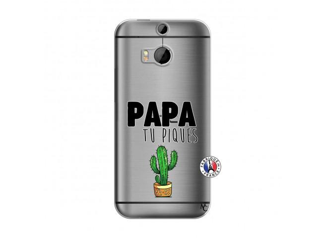 Coque HTC ONE M8 Papa Tu Piques