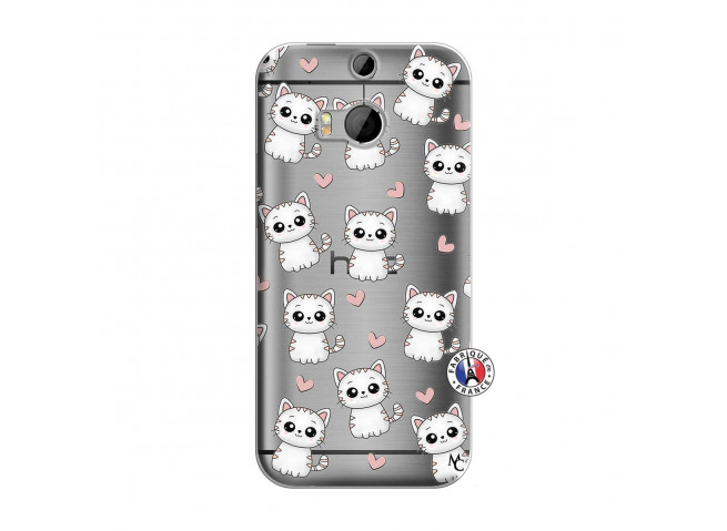 Coque HTC ONE M8 Petits Chats