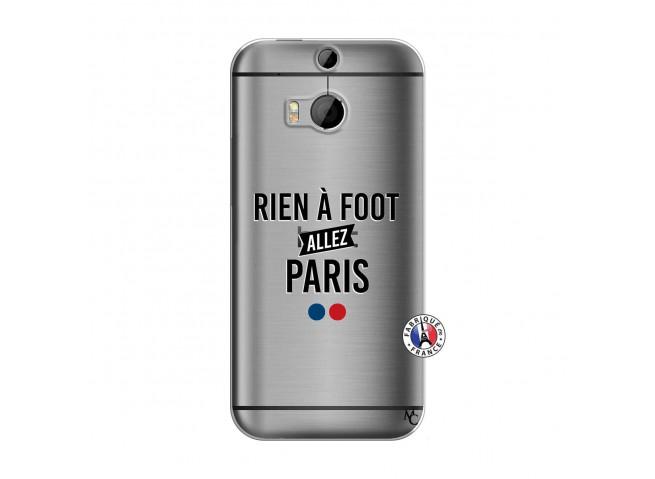 Coque HTC ONE M8 Rien A Foot Allez Paris