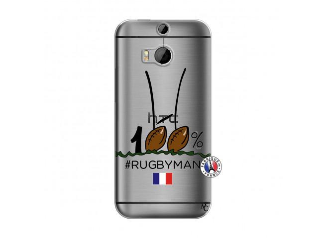 Coque HTC ONE M8 100 % Rugbyman Entre les Poteaux