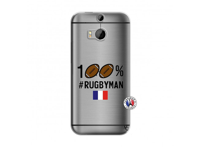 Coque HTC ONE M8 100% Rugbyman