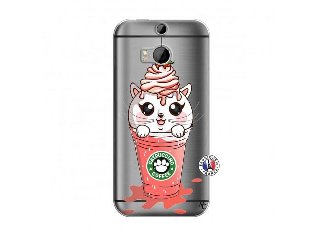 Coque HTC ONE M8 Catpucino Ice Cream