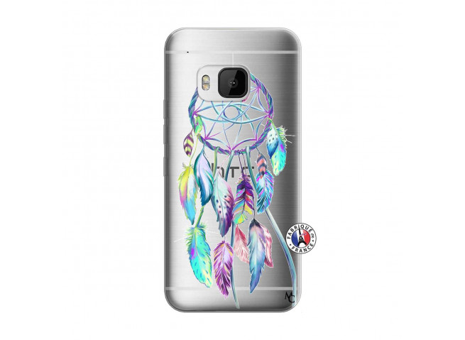 Coque HTC ONE M9 Blue Painted Dreamcatcher