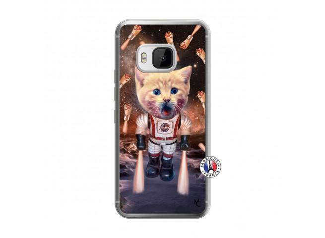 Coque HTC ONE M9 Cat Nasa Translu
