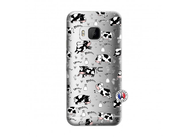 Coque HTC ONE M9 Cow Pattern