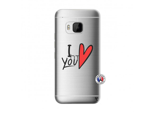Coque HTC ONE M9 I Love You