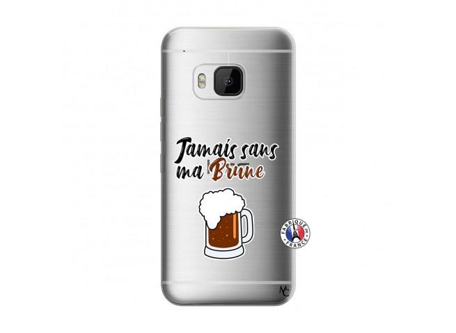 Coque HTC ONE M9 Jamais Sans Ma Brune