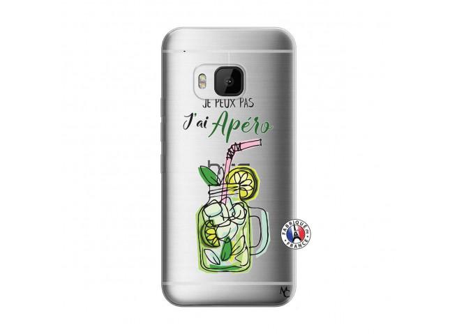 Coque HTC ONE M9 Je peux pas J'ai Apéro