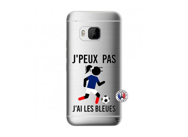 Coque HTC ONE M9 Je Peux Pas J Ai Les Bleues