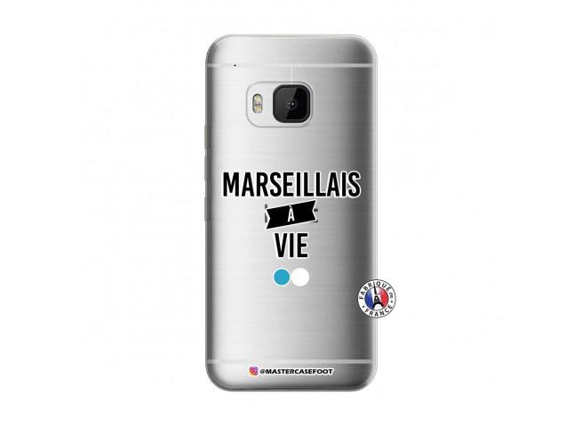 Coque HTC ONE M9 Marseillais à Vie