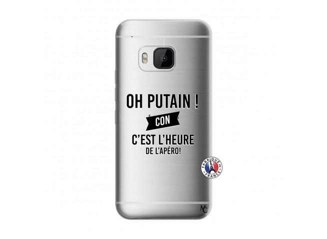 Coque HTC ONE M9 Oh Putain C Est L Heure De L Apero