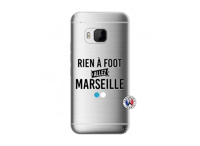 Coque HTC ONE M9 Rien A Foot Allez Marseille