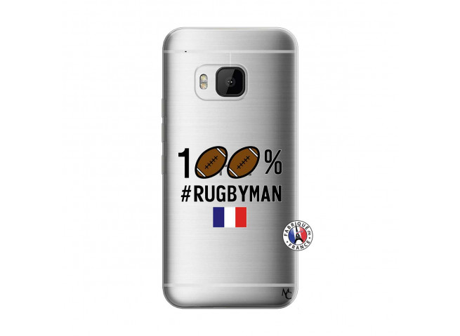 Coque HTC ONE M9 100% Rugbyman