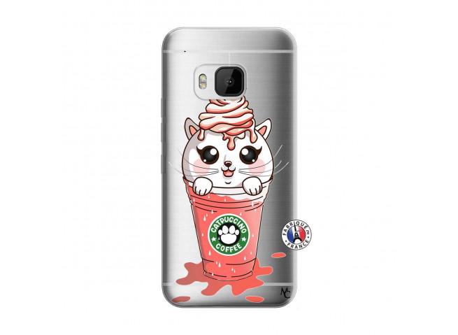 Coque HTC ONE M9 Catpucino Ice Cream