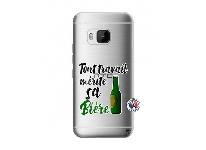 Coque HTC ONE M9 Tout Travail Merite Sa Biere