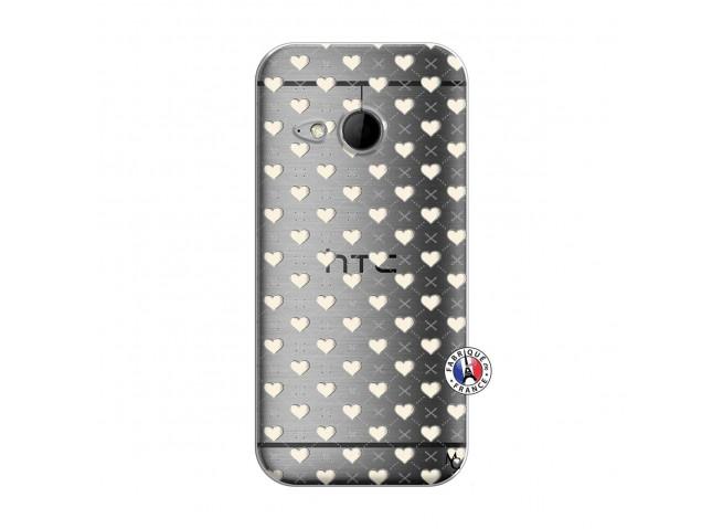 Coque HTC ONE Mini M8 Little Hearts