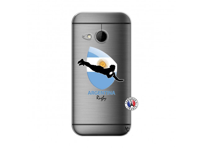 Coque HTC ONE Mini M8 Coupe du Monde Rugby-Argentine