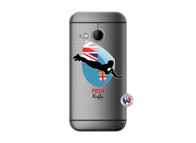 Coque HTC ONE Mini M8 Coupe du Monde Rugby Fidji