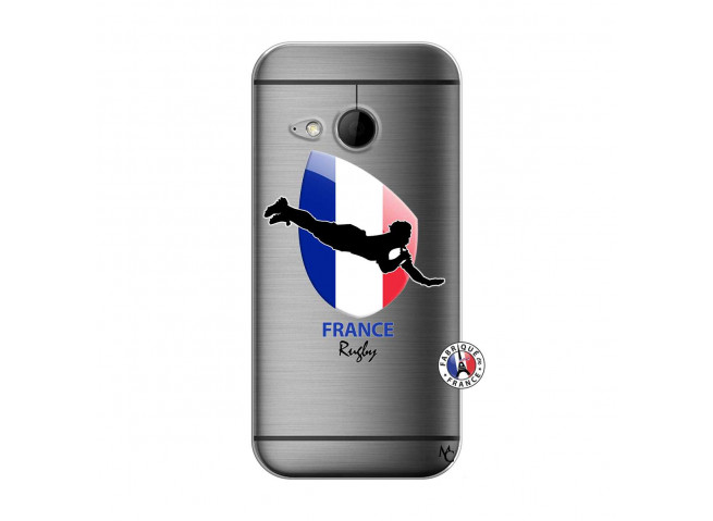 Coque HTC ONE Mini M8 Coupe du Monde de Rugby-France