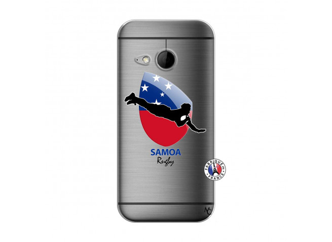 Coque HTC ONE Mini M8 Coupe du Monde Rugby-Samoa