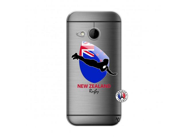 Coque HTC ONE Mini M8 Coupe du Monde Rugby- Nouvelle Zélande