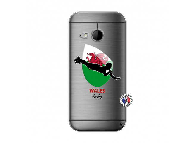 Coque HTC ONE Mini M8 Coupe du Monde Rugby-Walles