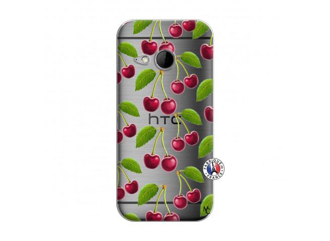 Coque HTC ONE Mini M8 oh ma Cherry