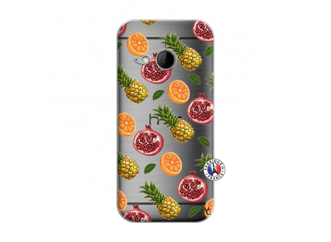Coque HTC ONE Mini M8 Fruits de la Passion